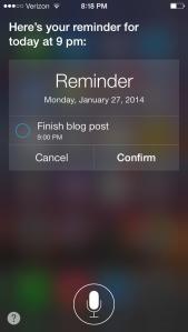 Thanks, Siri