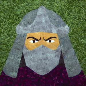 The Shredder quilt block